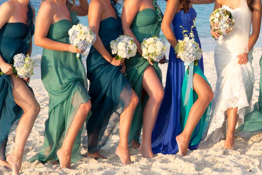 Choosing The Perfect Bridesmaids Dress For A Destination Wedding Way To Go Travel,Mermaid Most Popular Wedding Dresses